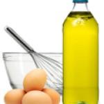 Huevo y Aceite de Almendras